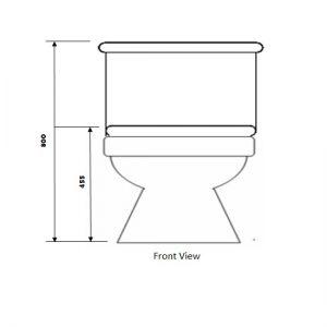 Baron toilet bowl W-203A toilet bowl city singapore 2