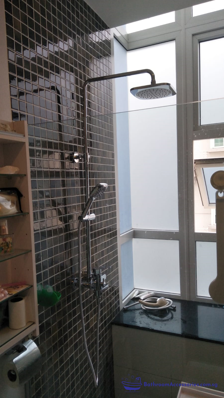 Bathroom Accessories Rainshower Installation In Singapore ...