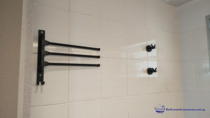 Bathroom Accessories Installation In Singapore HDB – Seng Kang West